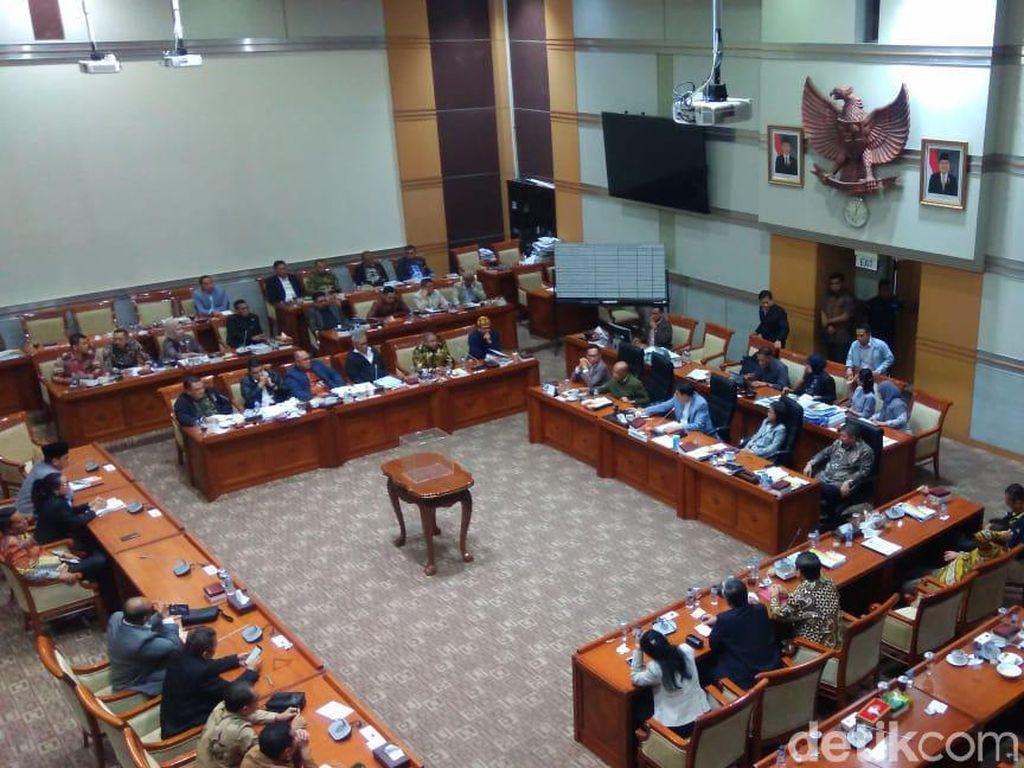 Komisi III DPR Gelar Voting Pilih 5 Capim KPK