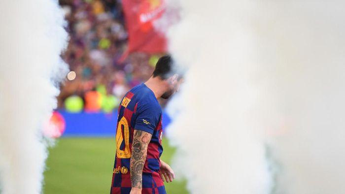 Lionel Messi siap bertahan di Barcelona asalkan tim terus kompetitif (David Ramos/Getty Images)
