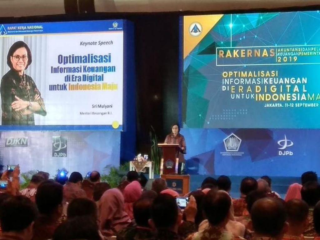 Rasa Was-was Sri Mulyani di Balik Laporan Keuangan WTP Pemerintah