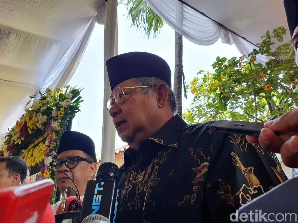 SBY: Sebagai Adik, Saya Doakan Pak Habibie Tenang di Sisi Allah SWT