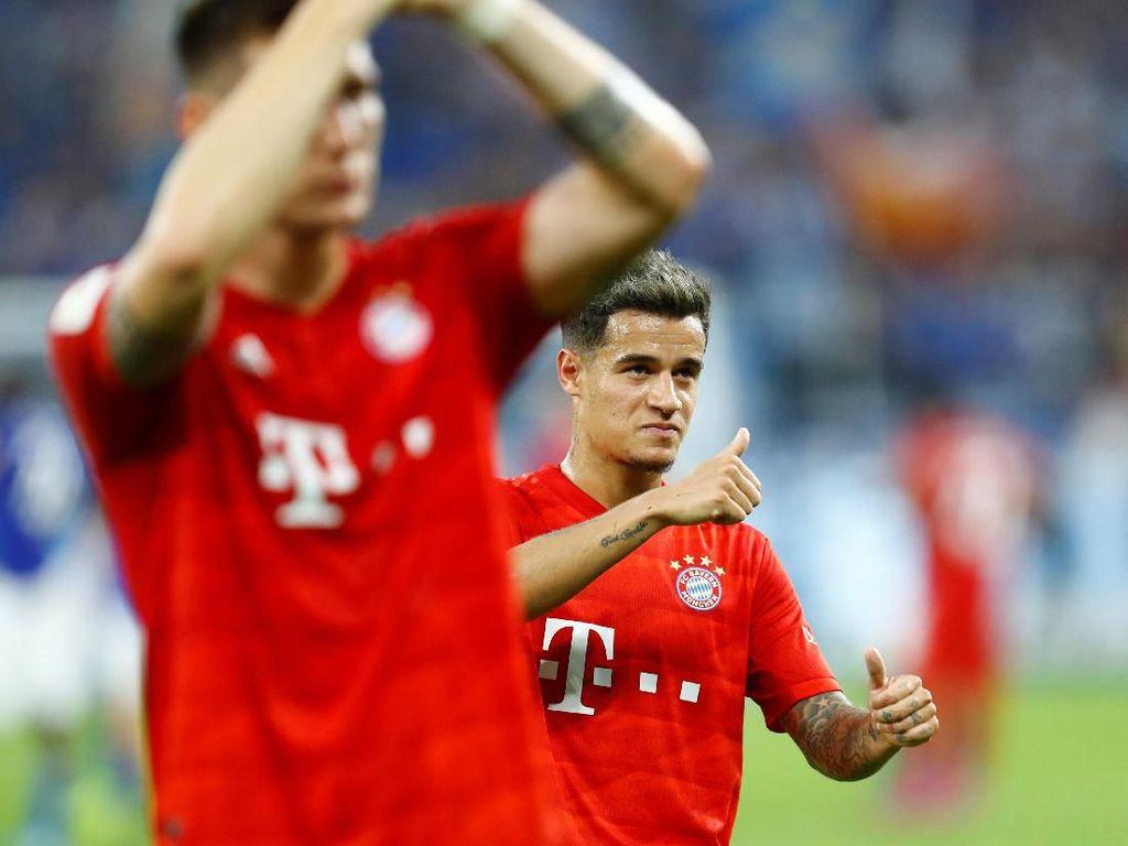 Coutinho Minta Nasihat pada Firmino Sebelum Gabung Bayern