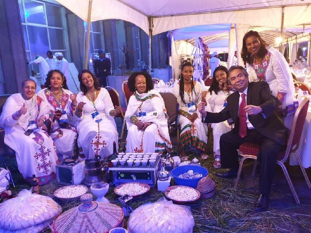 Dubes Al Busyra Basnur Hadiri Perayaan Tahun Baru Ethiopia