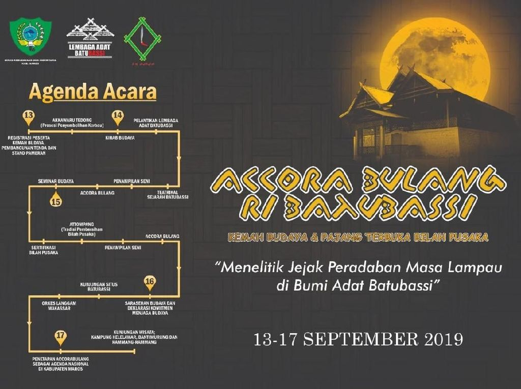 Kabupaten Maros Gelar Festival Bertajuk Budaya Lokal