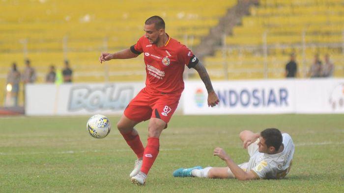 Kalteng Putra vs Persebaya Surabaya selesai 1-1.. (Foto: Iggoy el Fitra/Antara Foto)