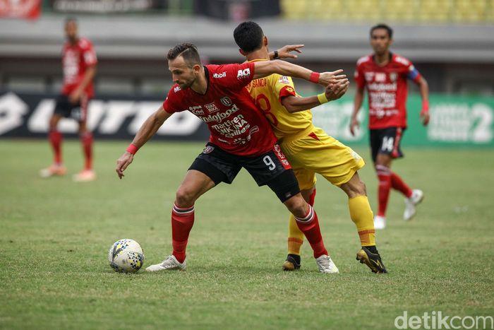 Bali United tandang ke Stadion Patriot, Bekasi, Jumat (13/9/2019) sore WIB, demi meraih tiga poin untuk menjauhkan diri dari kejaran Tira-Persikabo.