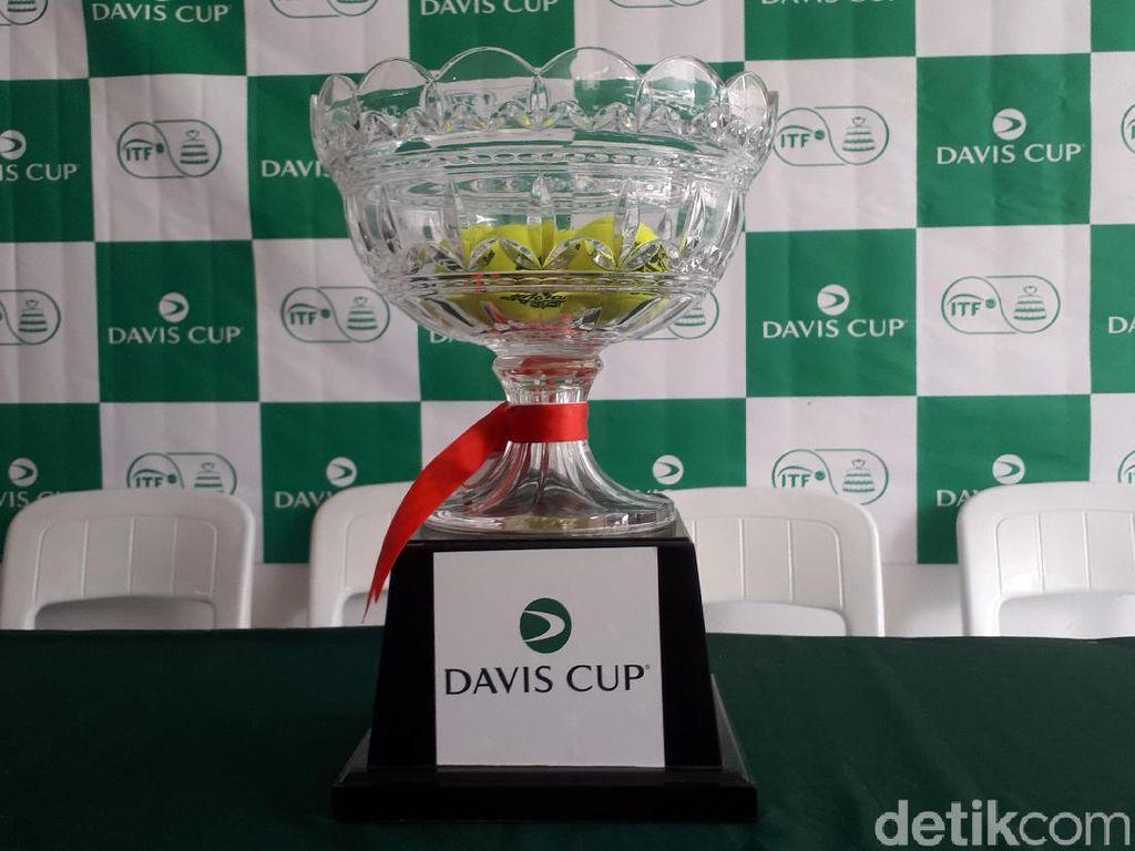 M Rifqi Tertantang Curi Poin di Tunggal Pertama Davis Cup 2019
