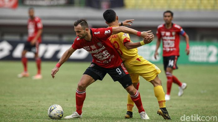 Bali United berimbang tanpa gol kontra Bhayangkara FC (Rifkianto Nugroho/detikSport)