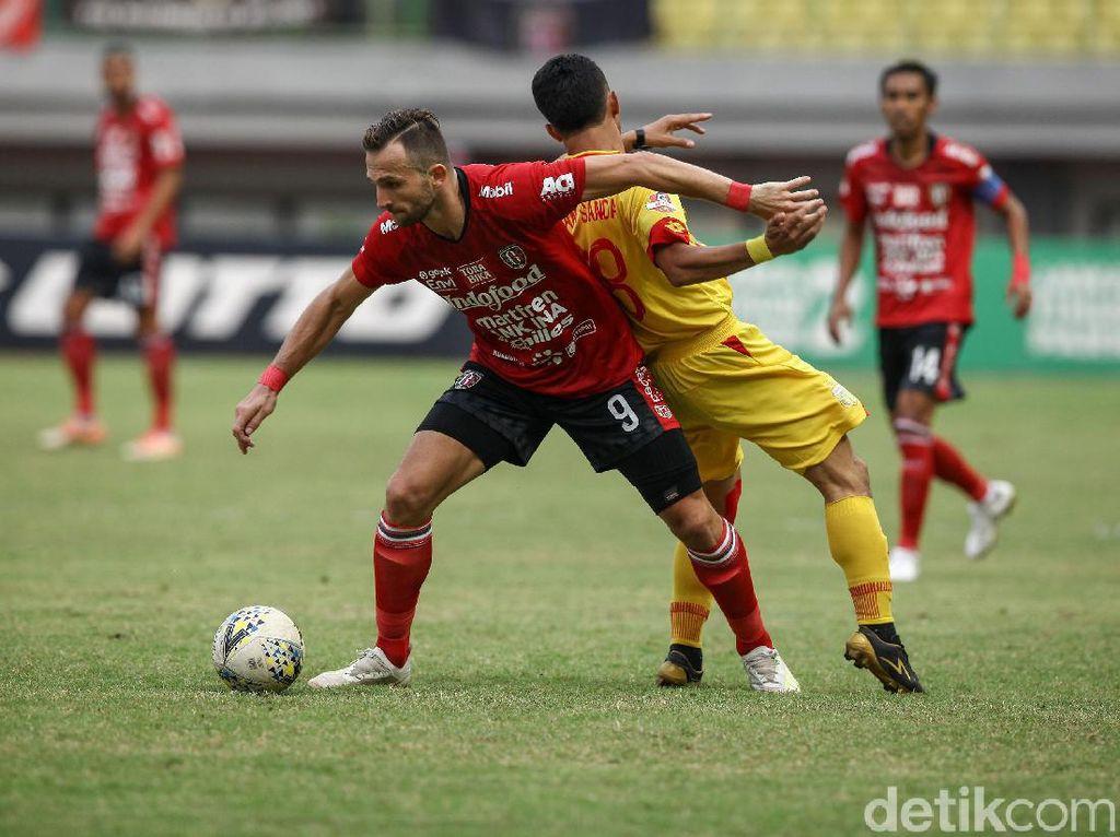 Bhayangkara FC Vs Bali United Tuntas Tanpa Gol