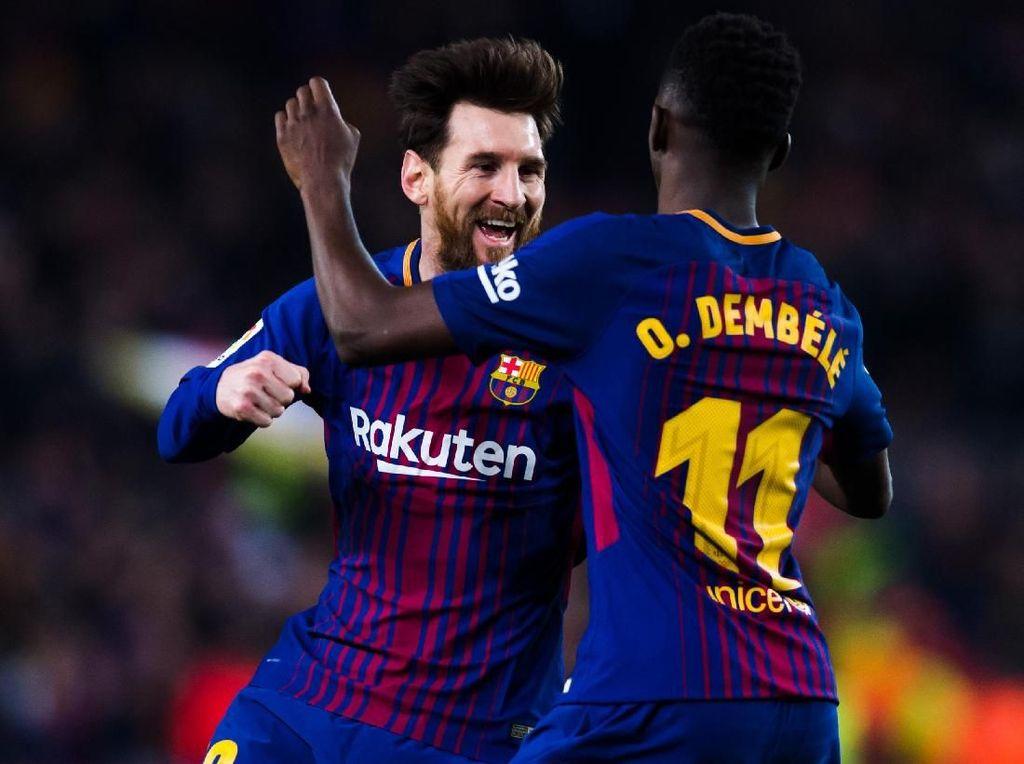 Waspadalah Inter, Messi dan Dembele Masuk Skuat Barcelona