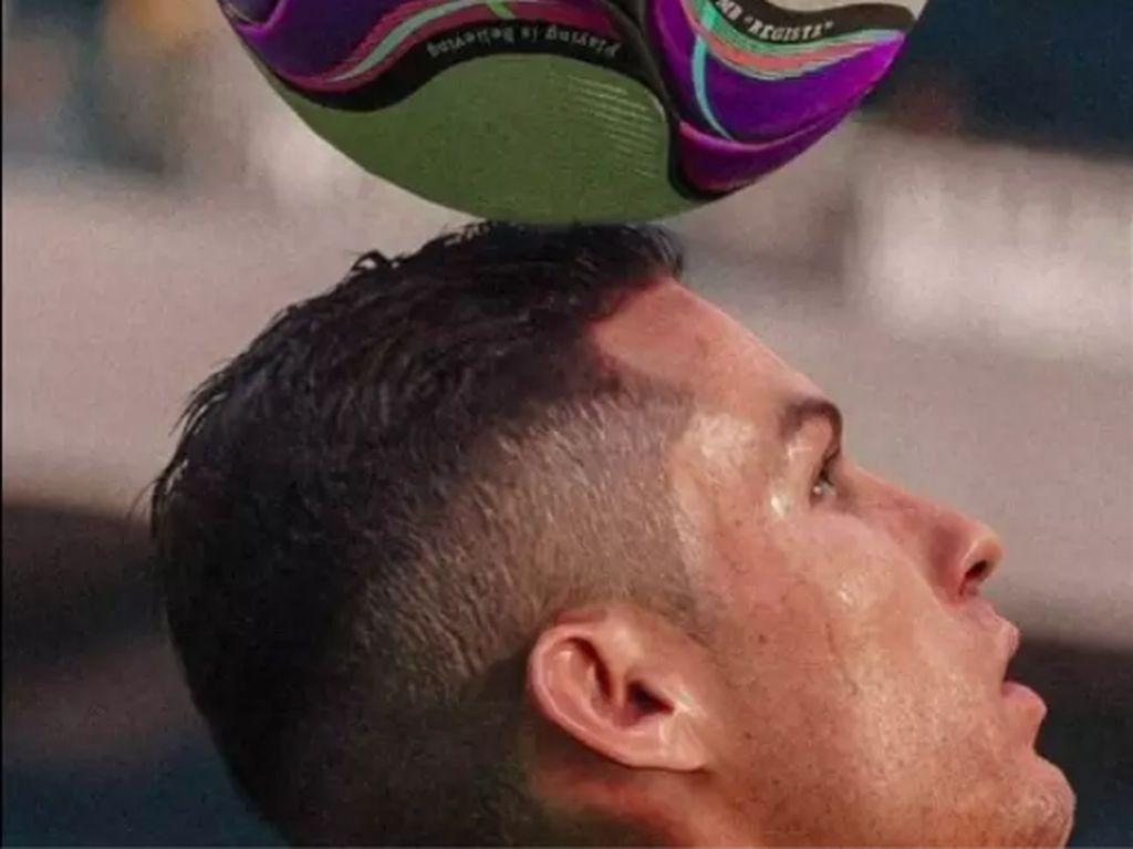 Foto Cristiano Ronaldo? Bukan, Ini Contoh Grafis Keren PES 2020
