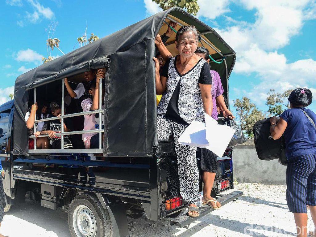 Potret Angkutan Umum di Pulau Rote