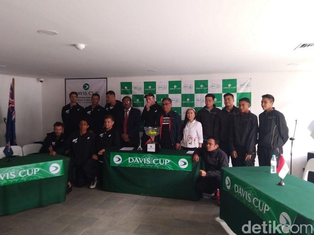 Tim Davis Indonesia Wajib Ambil Poin di Hari Pertama
