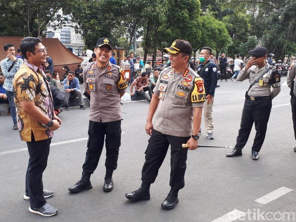 Polisi Minta Kain Hitam di KPK Dicopot, Kapolres: Intinya untuk Jaga Situasi