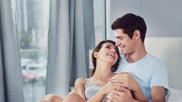 Ilustrasi pasangan suami dan istri