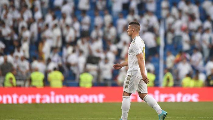 Luka Jovic jadi salah satu pemain Real Madrid yang cedera (Denis Doyle/Getty Images)
