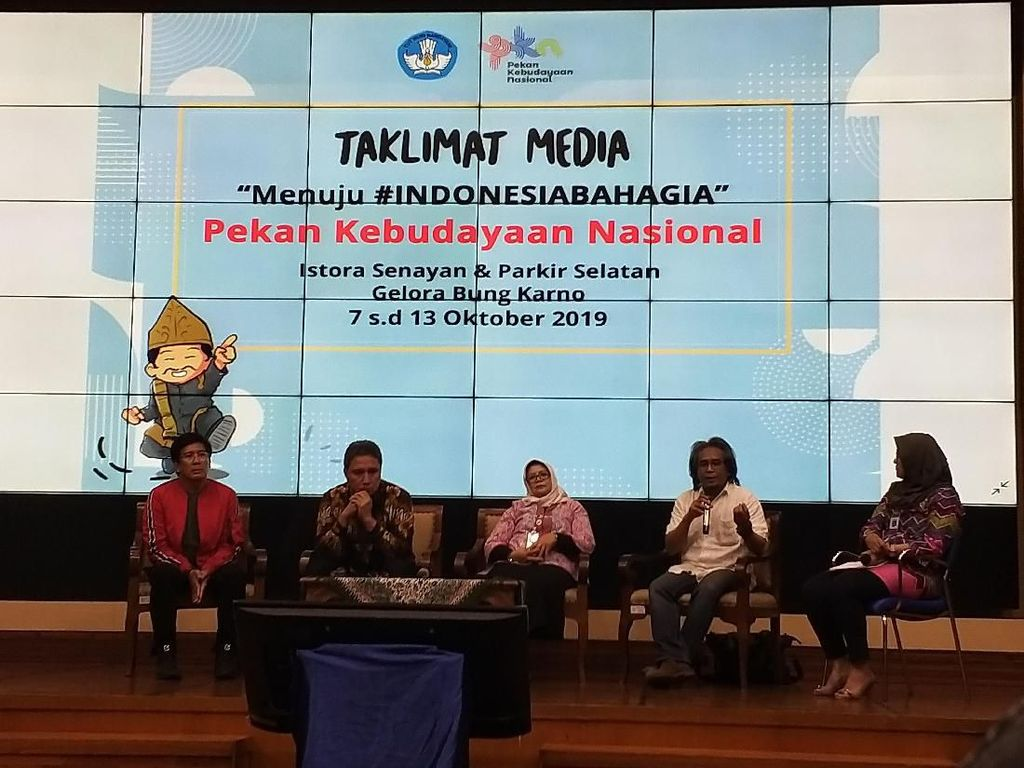Didik Nini Thowok hingga Didi Kempot Meriahkan Pekan Kebudayaan Nasional