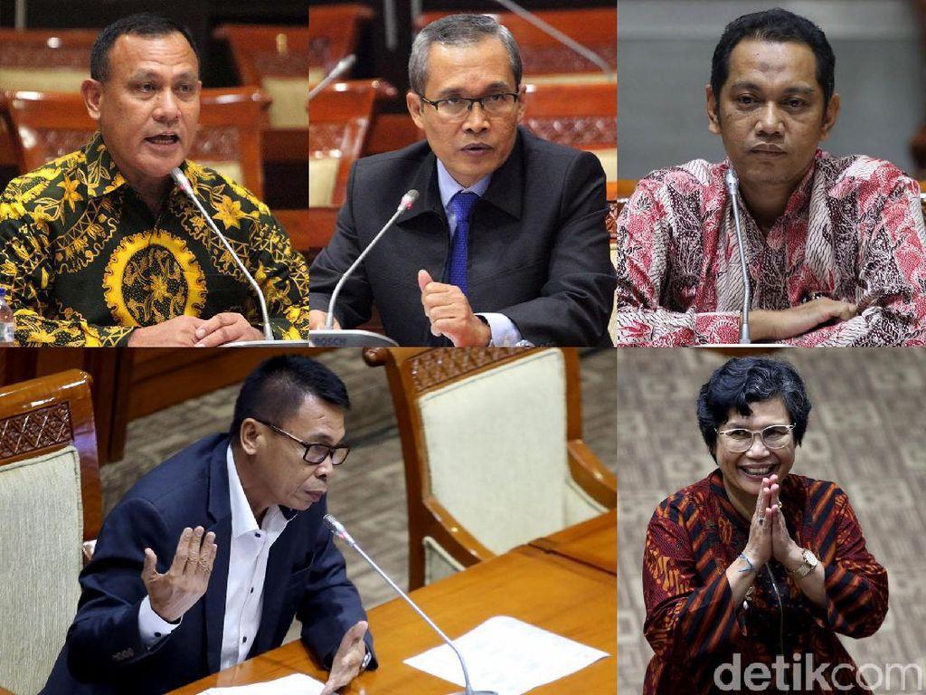 Ini Dia Lima Pimpinan Baru KPK