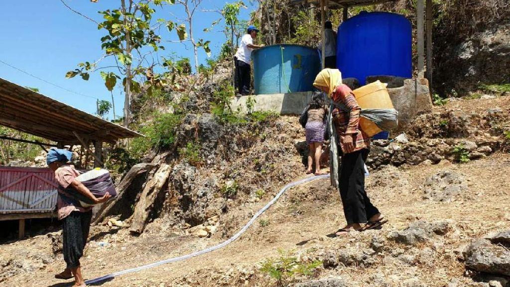 Menengok Perjuangan Emak-emak di Gunungkidul Dapat Air Bersih