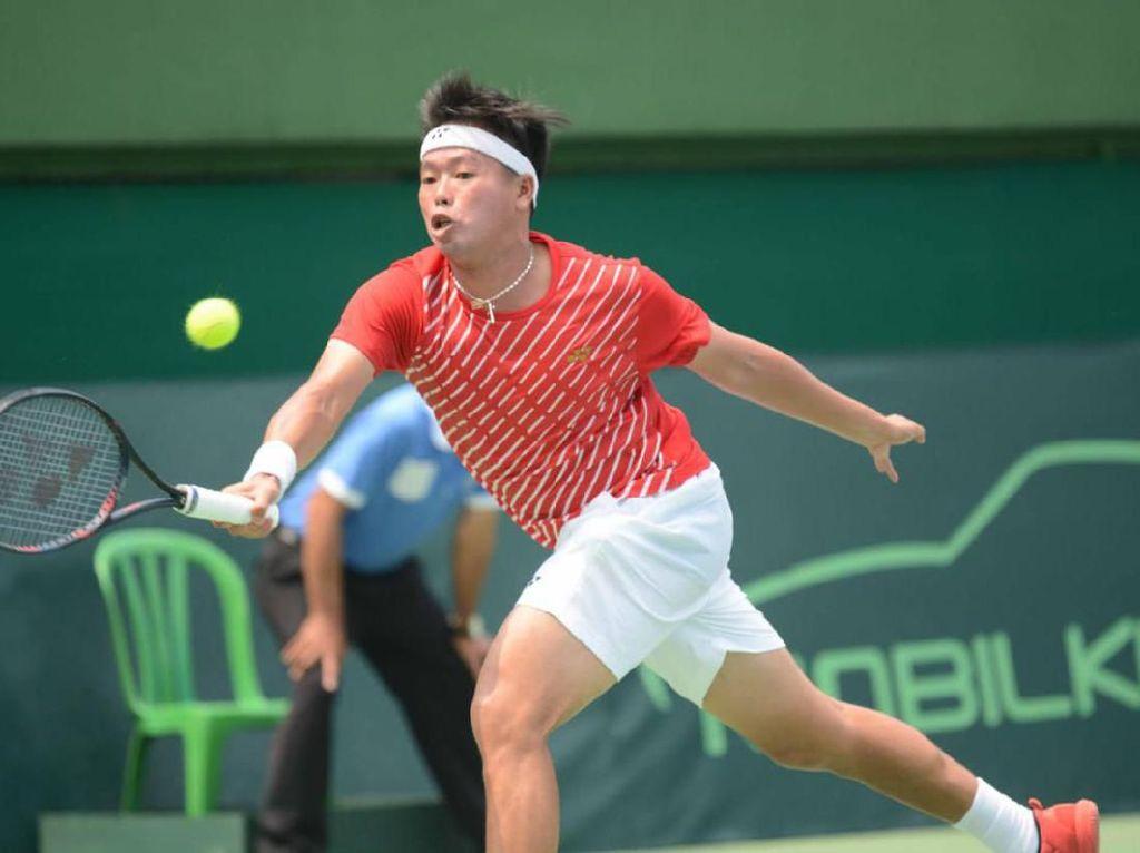 David Juga Kalah, Indonesia Babak Belur di Hari Pertama Piala Davis