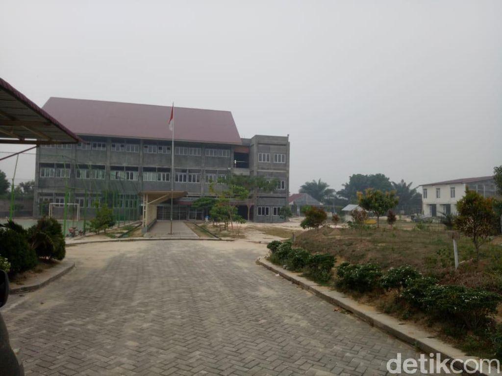 Imbas Asap Pekat Karhutla, Santri di Ponpes Pekanbaru Pulang Kampung