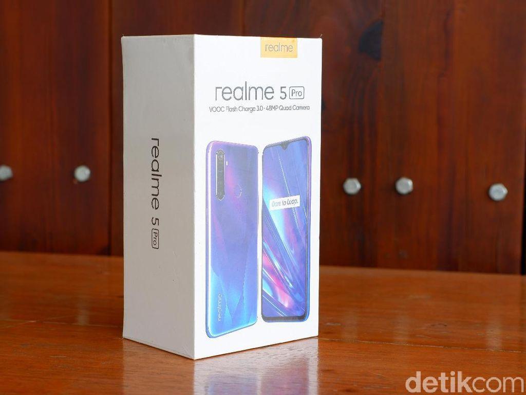 Unboxing Realme 5 Pro, Menggoda Lewat Spek & Kamera