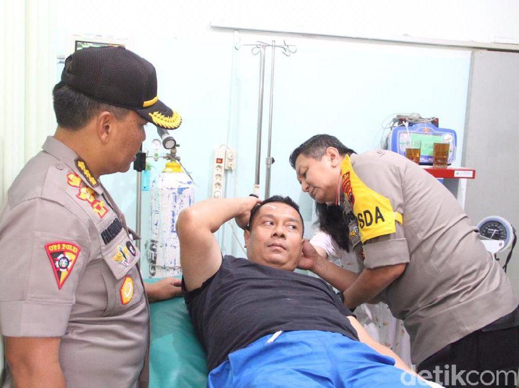 Dan Yon Gegana Brimob Semarang Korban Ledakan Boleh Rawat Jalan