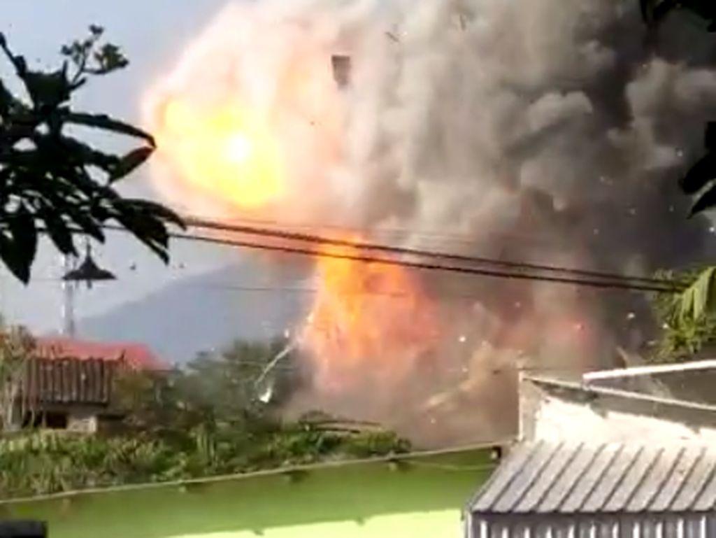 Kronologi Ledakan Gudang Amunisi di Srondol Semarang