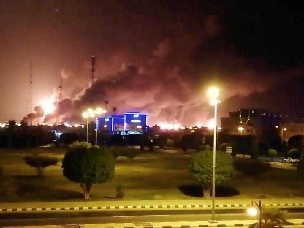 Kilang Minyak Arab Saudi Jadi Target Serangan Drone Lagi