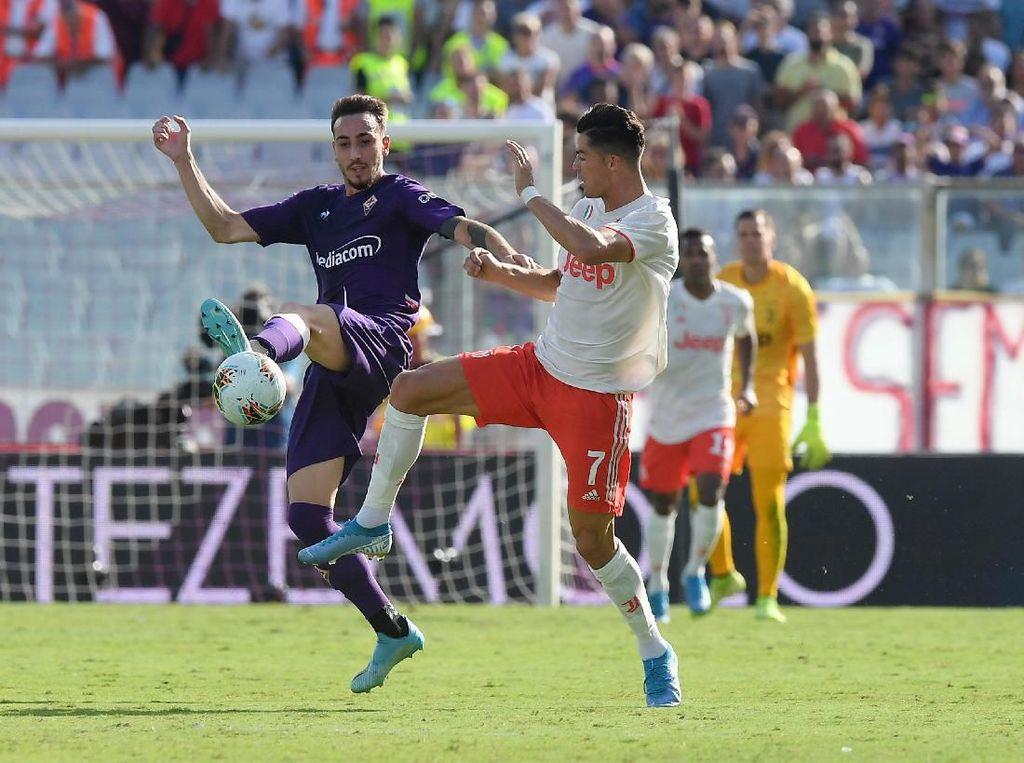Fiorentina Vs Juventus: Bianconeri Diredam La Viola 0-0