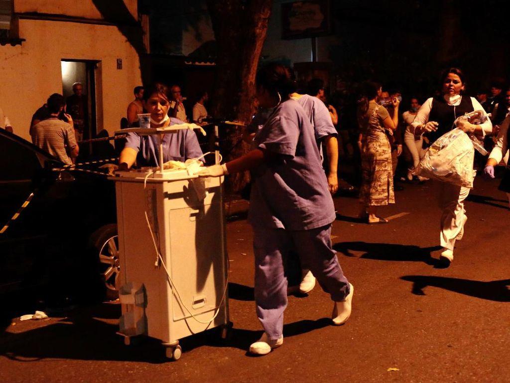 Nahas! 11 Pasien Tewas Saat RS di Rio de Janeiro Terbakar