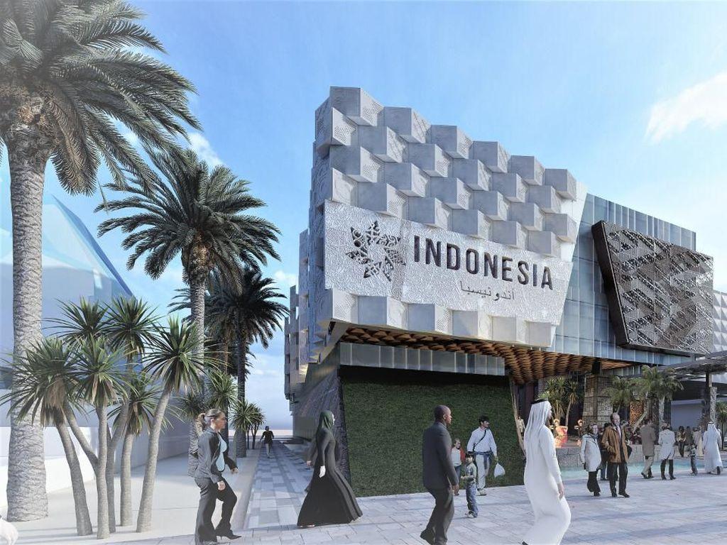 Tiga Lantai, Ini Lho Desain Etalase Produk RI di Dubai
