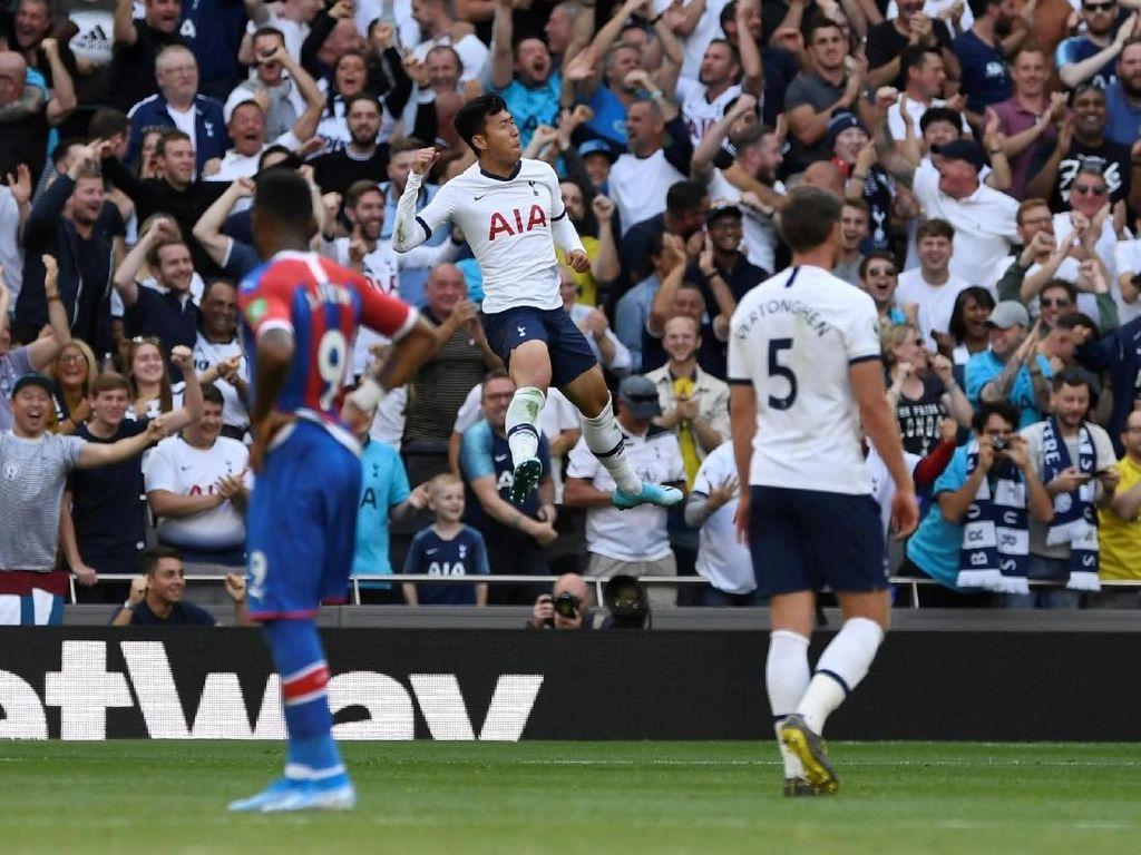 Tottenham Vs Crystal Palace: Son Dua Gol, Spurs Menang 4-0