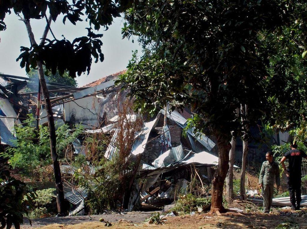 Gudang Amunisi yang Meledak di Mako Brimob Semarang Dinilai Tak Ideal