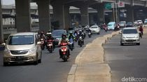 Trotoar Melintang di Tengah Jalan, Pemprov DKI Luruskan Soal Wewenang
