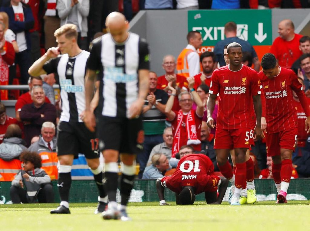 Liverpool Vs Newcastle United: The Reds Tekuk The Magpies 3-1