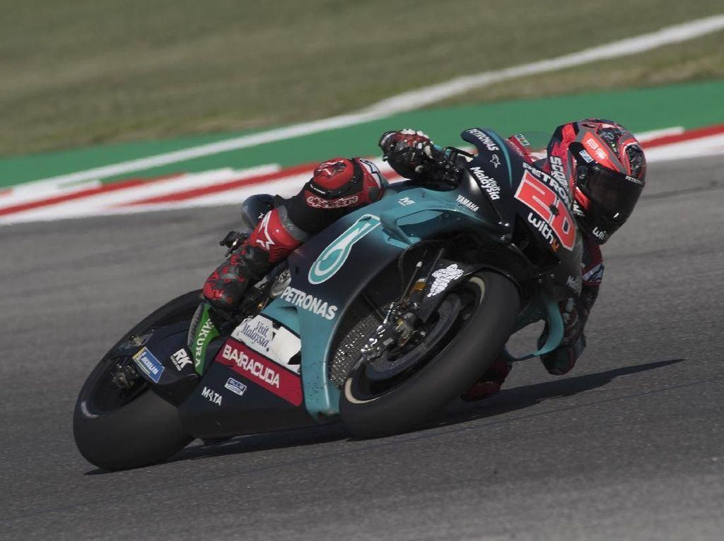 Free Practice III MotoGP San Marino Tuntas, Quartararo Terdepan