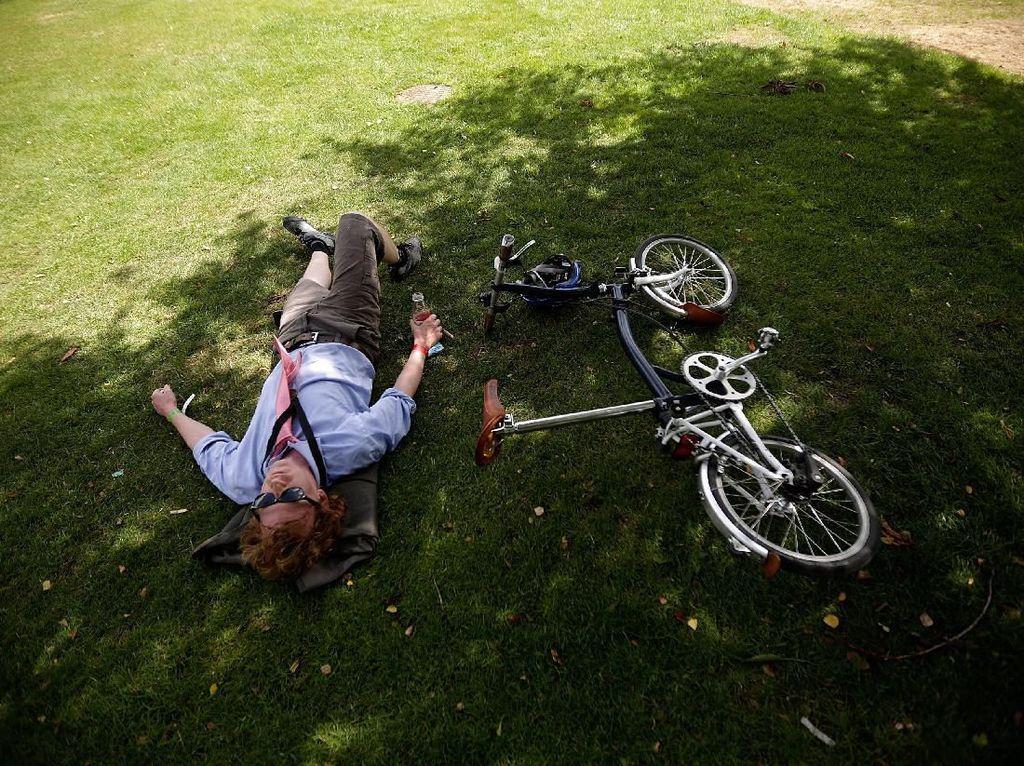 Anti Ribet-ribet dengan Sepeda Lipat