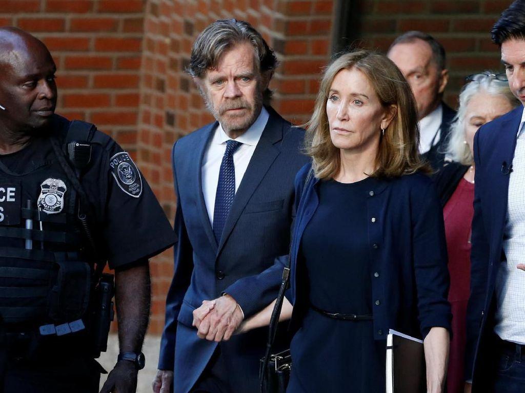 Suap Pengajar Kampus Elite Demi Loloskan Anak, Aktris AS Dipenjara