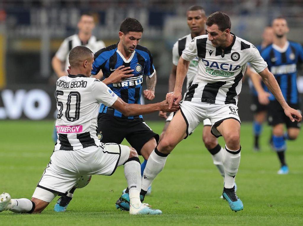 Inter Vs Udinese: Nerazzurri Kalahkan 10 Pemain Le Zebrette