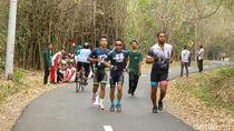Lintasan Savana Duathlon di Hutan Cagar Biosfer Dunia Berkesan Bagi Atlet
