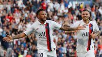 Neymar Jawab Cacian Suporter dengan Gol Akrobatik