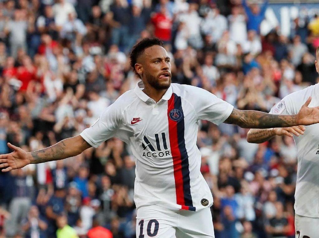 PSG Dipastikan Tanpa Neymar saat Hadapi Madrid