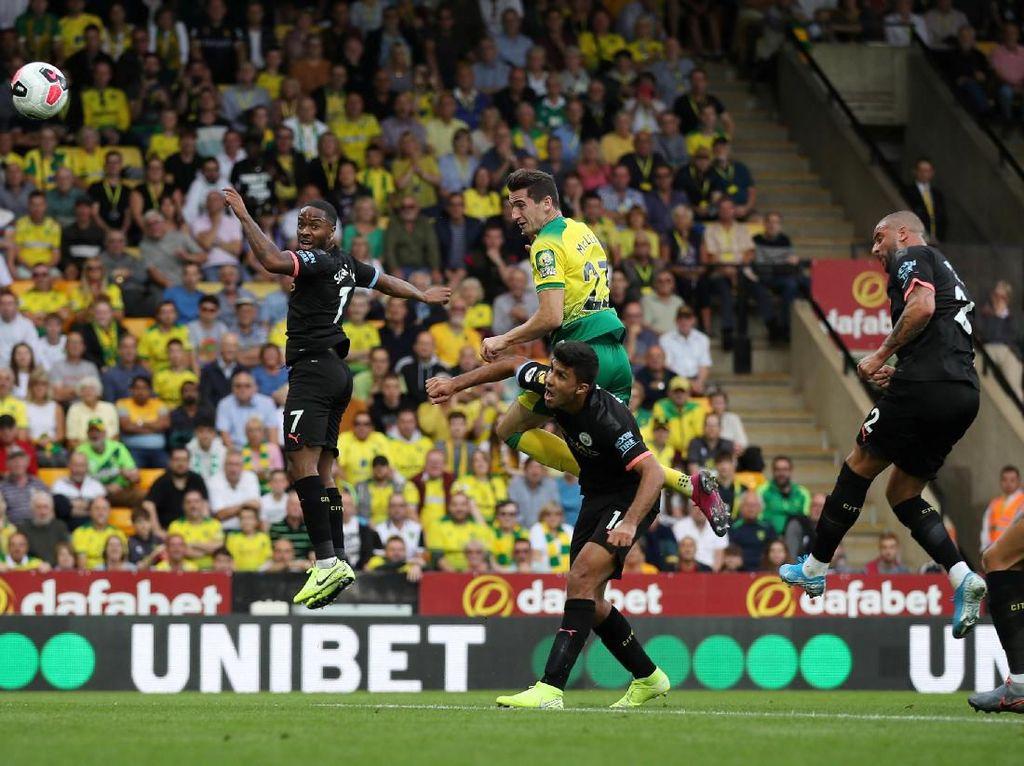 Turun Minum, City Tertinggal 1-2 dari Norwich