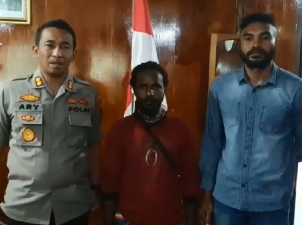 Kangen Keluarga, Anggota Kelompok Kriminal Papua Serahkan Diri