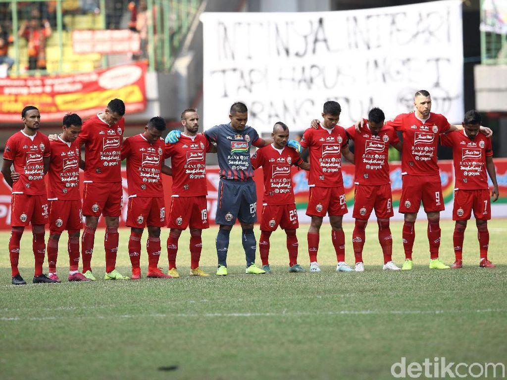 Persija Perpanjang Kontrak 13 Pemain Lokal, Termasuk Andritany dan Ismed