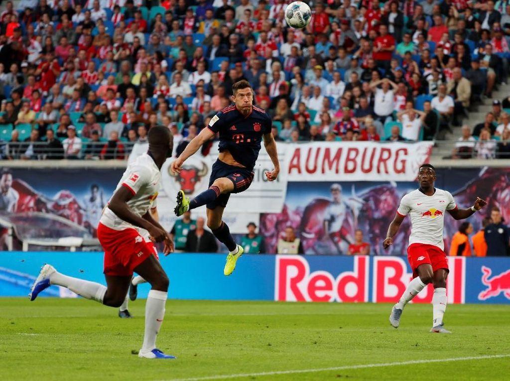 RB Leipzig Vs Bayern Munich Tuntas 1-1