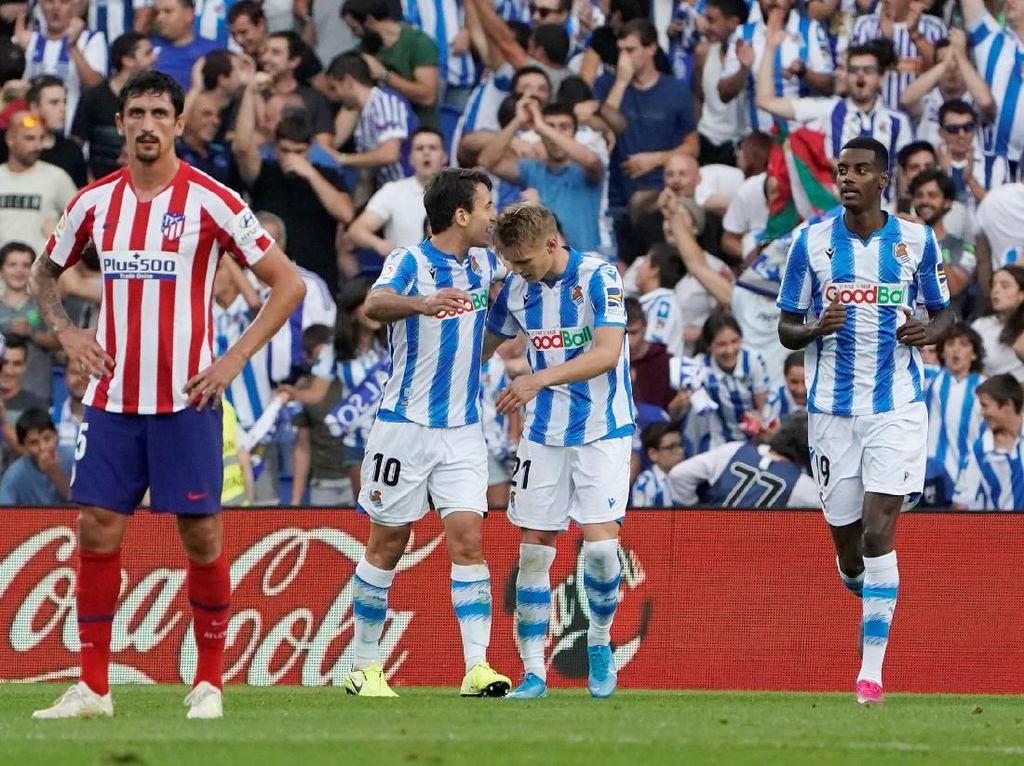 Sociedad vs Atletico: Los Rojiblancos Takluk 0-2