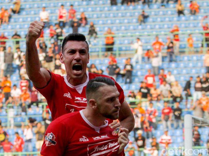 Persija Jakarta menjamu Semen Padang di lanjutan Liga 1 2019. (Foto: Rifkianto Nugroho/detikcom)