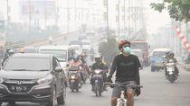 Viral Foto Pria Pakai Masker dari Bra untuk Lindungi Diri dari  Kabut Asap