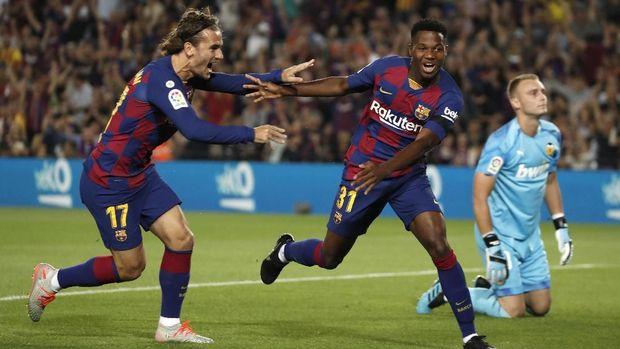 Ansu Fati menjelma menjadi andalan Barcelona.